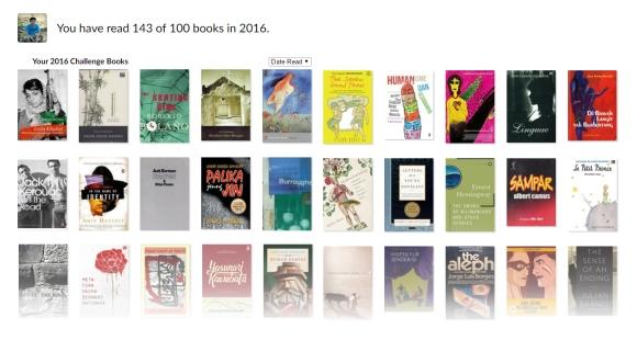 goodreads 2016 reading list